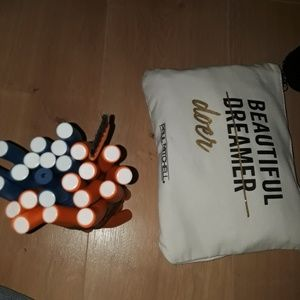 Flexi rod bundle+FREE Paul Mitchell bag&Lancomebag